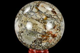 "2.75"" Polished Ibis Jasper Sphere - Madagascar For Sale, #113684"