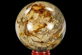 "Buy 3.05"" Polished Ibis Jasper Sphere - Madagascar - #113707"