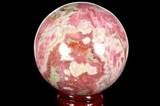 "Buy 2.2"" Polished Rhodochrosite Sphere - Argentina - #114253"