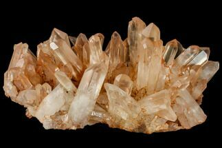 "9.4"" Tangerine Quartz Crystal Cluster - Madagascar For Sale, #112811"