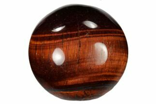 "1.2"" Polished Red Tiger's Eye Sphere For Sale, #115835"