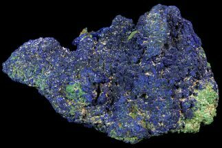 Azurite on Malachite - Fossils For Sale - #115452