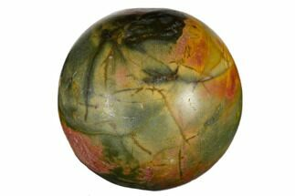 "1.2"" Polished Cherry Creek Jasper Sphere For Sale, #116252"