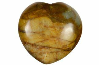 "Buy 1.4"" Polished Cherry Creek Jasper Heart - #116254"