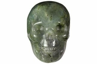 "2"" Realistic, Polished Labradorite Skull For Sale, #116306"
