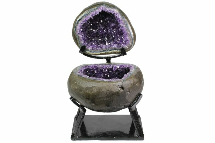 "7.9"" Amethyst ""Jewelry Box"" Geode"