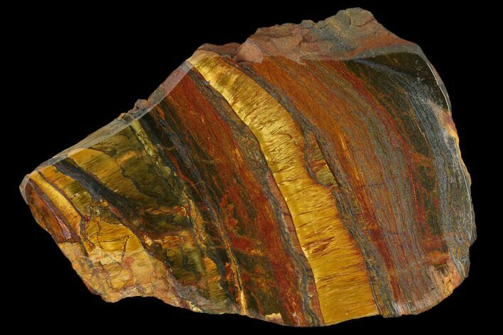 "3.7"" Marra Mamba Tigers Eye - Mt. Brockman (2.7 Billion Years)"