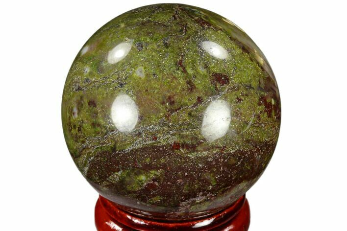 "1.55"" Polished Dragon's Blood Jasper Sphere - Australia"