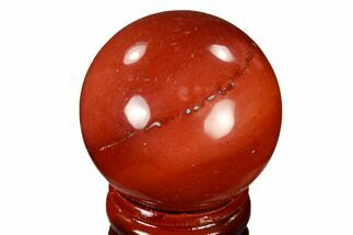 "Buy 1.55"" Polished Mookaite Jasper Sphere - Australia - #116047"