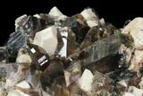 "8.9"" Smoky Quartz, Orthoclase and Aegirine Association - Malawi - #117506-2"