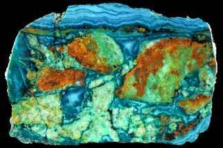 Chrysocolla - Fossils For Sale - #118785