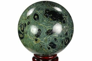"Buy 3.3"" Polished Kambaba Jasper Sphere - Madagascar - #121525"