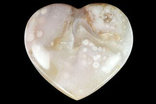 "Buy 3.35"" Polished Flower Heart - Madagascar - #121771"