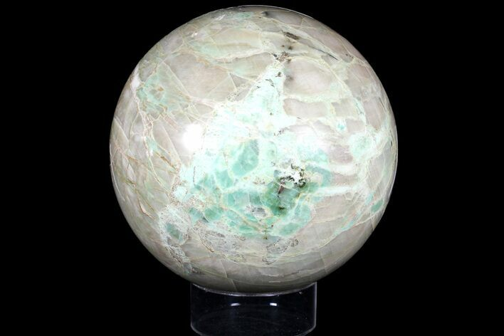 "Huge, 8.5"" Polished Garnierite Sphere - 31 lbs"