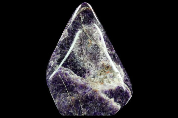 "8.7"" Tall Polished, Chevron Amethyst Freeform - Morocco"