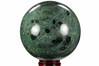 "Large, 5.45"" Polished Kambaba Jasper Sphere (8.7 lbs) - Madagascar For Sale, #122375"