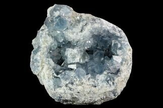 "6.7"" Sky Blue Celestine (Celestite) Geode - Madagascar For Sale, #124211"
