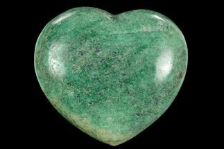 "Buy 3.4"" Polished Fuchsite Heart - Madagascar - #126790"