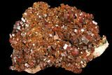 "4.6"" Gorgeous, Ruby Red Vanadinite Crystal Cluster - Morocco - #127660-1"