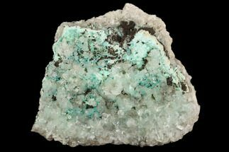 Aurichalcite & Calcite - Fossils For Sale - #127230