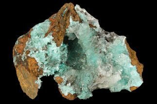 Aurichalcite & Calcite - Fossils For Sale - #127233