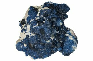 "4.7"" Dark Blue Fluorite on Quartz - China For Sale, #131432"