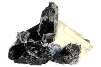 "Buy 2.5"" Aquamarine, Schorl & Orthoclase Feldspar Association - Namibia - #132148"