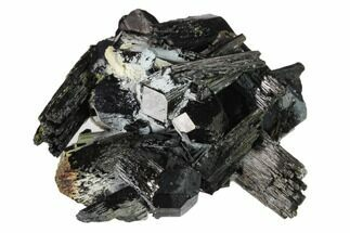 "1.9"" Black Tourmaline (Schorl) Crystals with Orthoclase - Namibia For Sale, #132212"