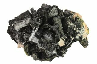"3"" Black Tourmaline (Schorl) Crystals with Orthoclase - Namibia For Sale, #132230"
