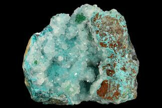 "2.5"" Quartz, Atacamite & Chrysocolla Association - Peru For Sale, #132347"