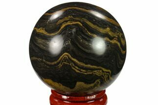 "Buy 1.9"" Polished Stromatolite (Greysonia) Sphere - Bolivia - #134713"