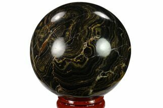 "Buy 2.3"" Polished Stromatolite (Greysonia) Sphere - Bolivia - #134743"
