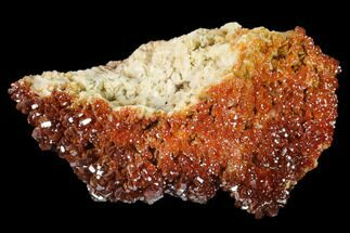Vanadinite & Barite - Fossils For Sale - #134694