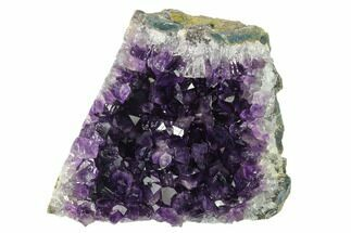 "3.8"" Amethyst Cut Base Crystal Cluster - Uruguay For Sale, #135101"