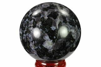 "2.2"" Polished, Indigo Gabbro Sphere - Madagascar For Sale, #135773"