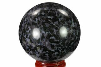 "2.2"" Polished, Indigo Gabbro Sphere - Madagascar For Sale, #135779"
