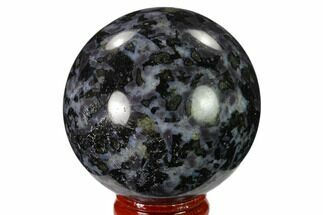 "2.3"" Polished, Indigo Gabbro Sphere - Madagascar For Sale, #135782"