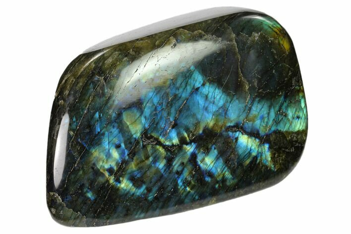 "5.7"" Flashy Polished Labradorite Free Form - Madagascar"