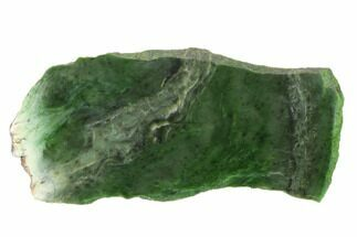 "Buy 8.3"" Polished Canadian Jade (Nephrite) Slab - British Colombia - #137296"
