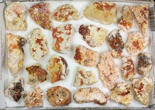 Barite & Vanadinite  - Fossils For Sale - #138195