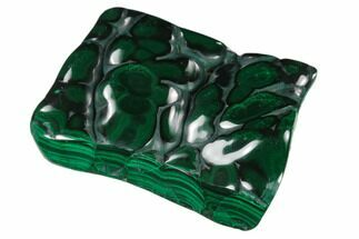 "Buy 2.8"" Polished Malachite Specimen - Congo - #140200"