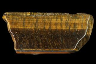 "2.1"" Polished Tiger's Eye Slab - South Africa For Sale, #140495"