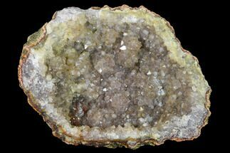 "Buy 4.7"" Quartz Crystal Geode Section - Morocco - #141775"