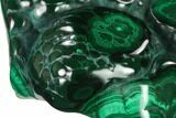 "4.4"" Polished Malachite Specimen - Congo - #140251-2"
