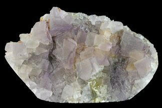 "Buy 3.8"" Fluorescent Cubic Fluorite Crystal Cluster - China - #142387"