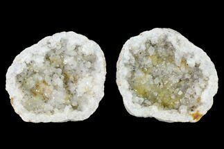 "Buy 3.2"" Keokuk Quartz Geode with Calcite Crystals - Iowa - #144712"