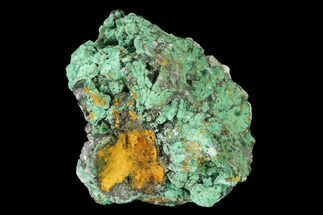 Malachite & Calcite - Fossils For Sale - #144225