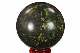 "2.45"" Polished Dragon's Blood Jasper Sphere - South Africa For Sale, #146081"