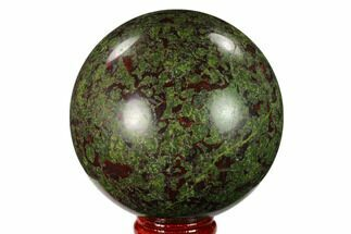 "Buy 2.85"" Polished Dragon's Blood Jasper Sphere - South Africa - #146089"