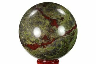 "2.9"" Polished Dragon's Blood Jasper Sphere - South Africa For Sale, #146096"